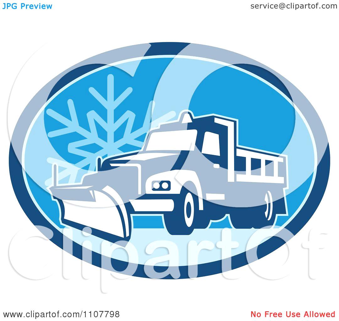 1080x1024 Snow Plow Truck Clipart