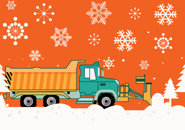 632x443 Snow Plow Vector Free Vector Download 356037 Cannypic