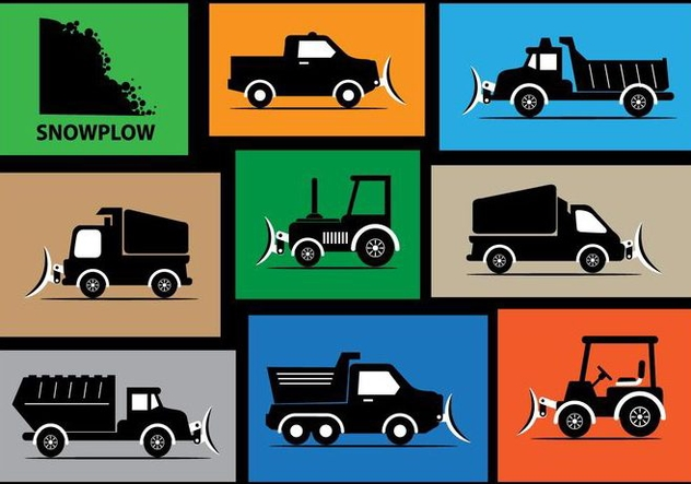 632x443 Snow Plow Vector Silhouette Free Vector Download 358981 Cannypic