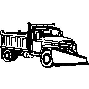 300x300 Truck Clipart Snow Plowing
