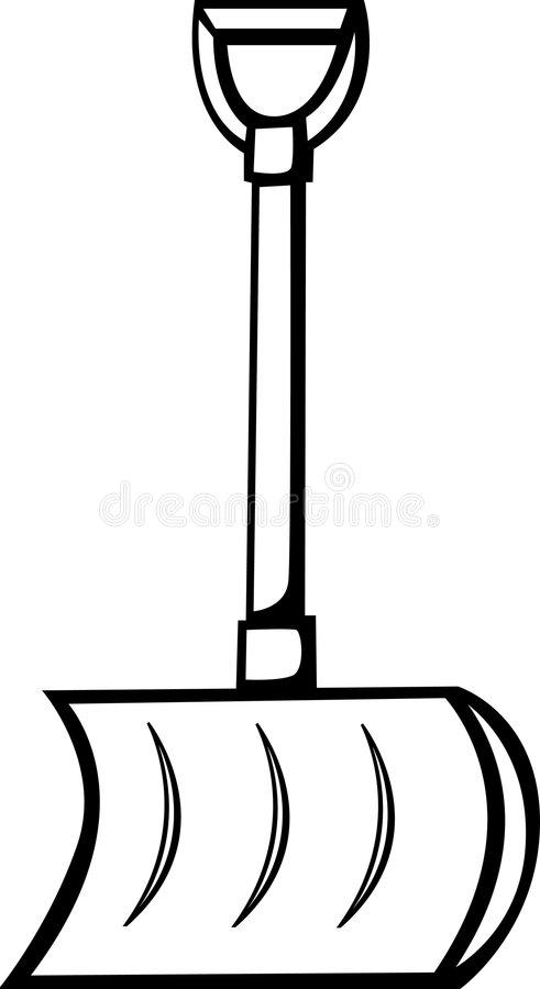 Snow Shovel Vector