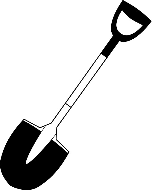 508x633 Shovel Clipart Vector ~ Frames ~ Illustrations ~ Hd Images ~ Photo