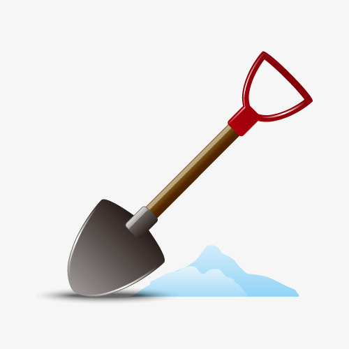 500x500 Vector Snow Shovel, Snow Vector, Vector Material Png And Vector
