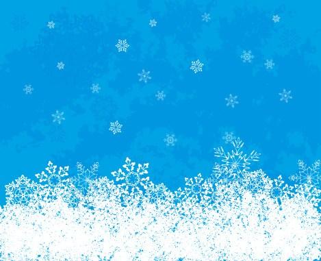 469x381 Snow Vector Graphic