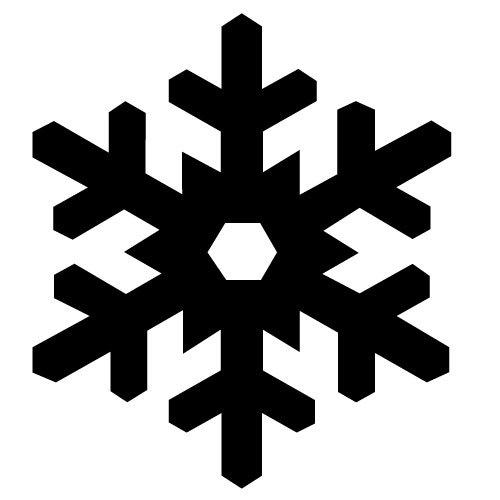 500x500 Snow Vector Weather Icon Public Domain Vectors