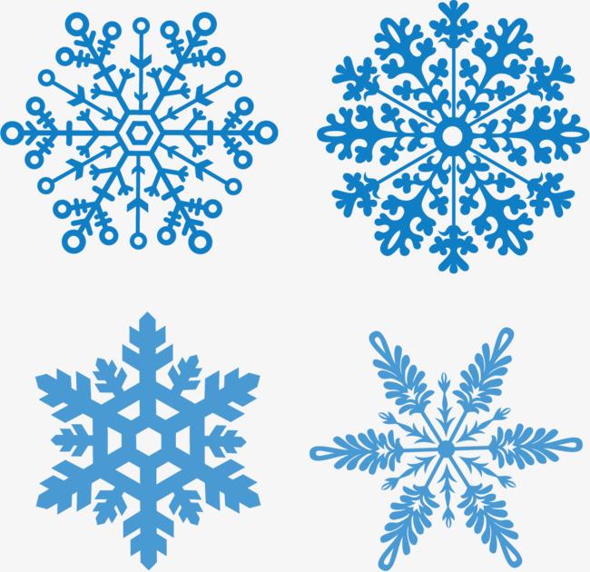 650x630 Vector Winter Snow Flurries, Vector Snow, Snowflake, Creative Snow