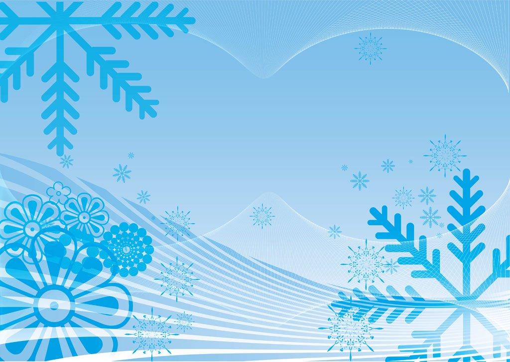 1024x726 Winter Snow Vector Vector Art Amp Graphics