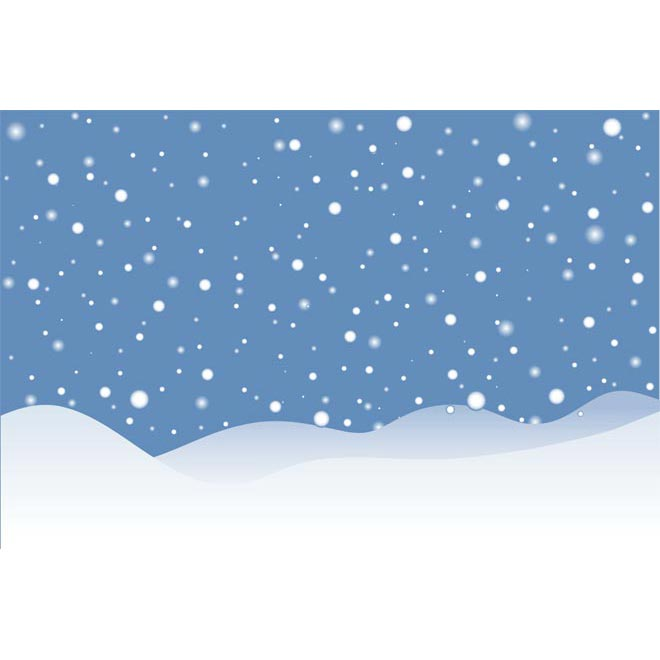 660x660 Beautiful Snow Landscape Background Vector By Cgvector