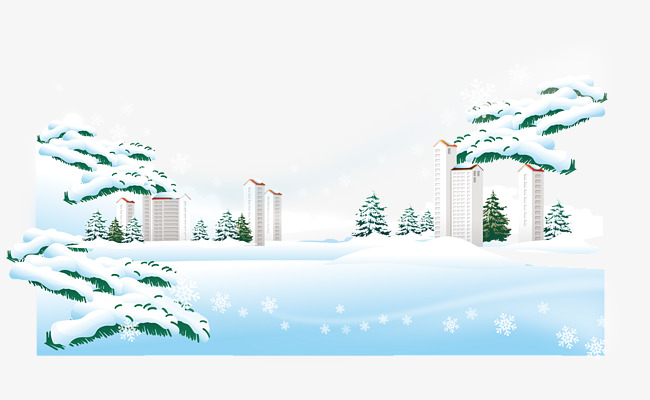 650x400 City Snow Vector, City Vector, Snow Vector, City Png And Vector