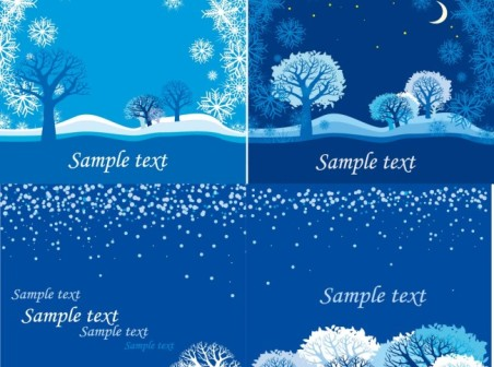 452x336 Blue Snow Vector Background Free Vector Background Download