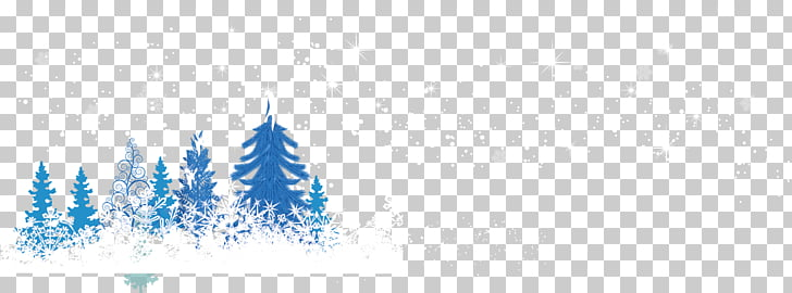 728x270 Brand Computer Pattern, Snowy Winter Snow Material Png Clipart