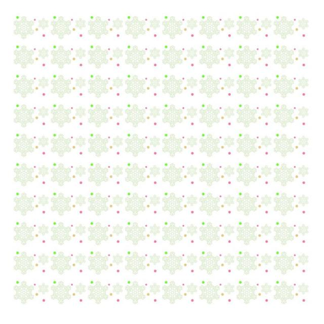 640x640 Christmas Snow Flakes Pattern White, Christmas Vector, Snow Vector