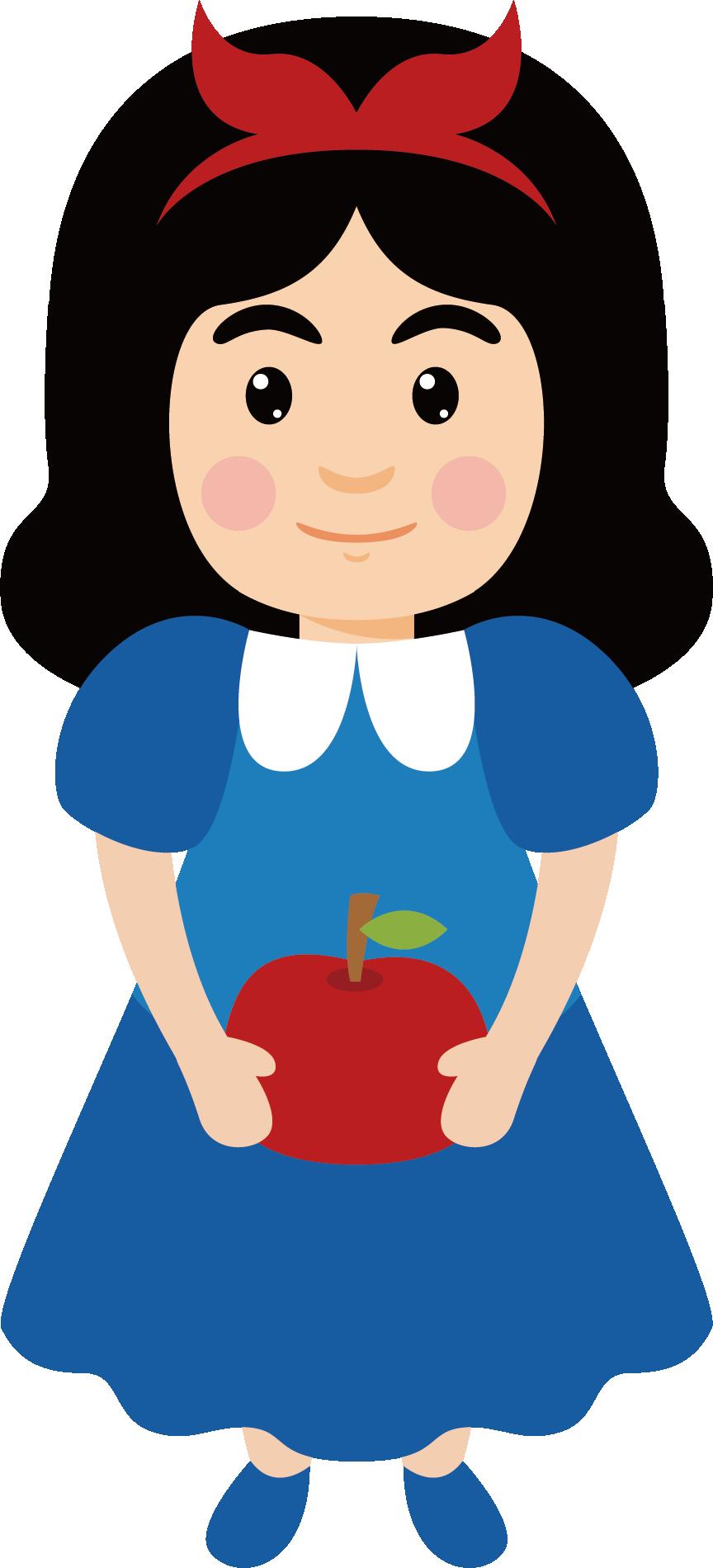 864x1900 Snow White Snow White Cartoon Clip Art