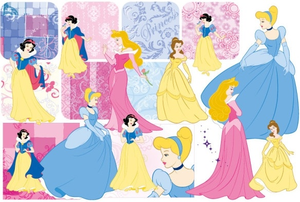584x393 Snow White And The Pattern Vector 2 Free Vector In Encapsulated