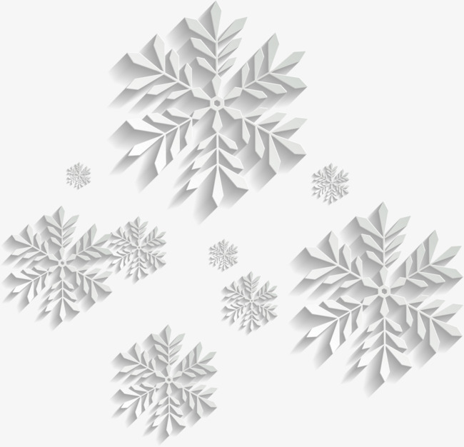 650x626 Flawless White Snowflakes, Snow, White, Vector Snowflakes Png And
