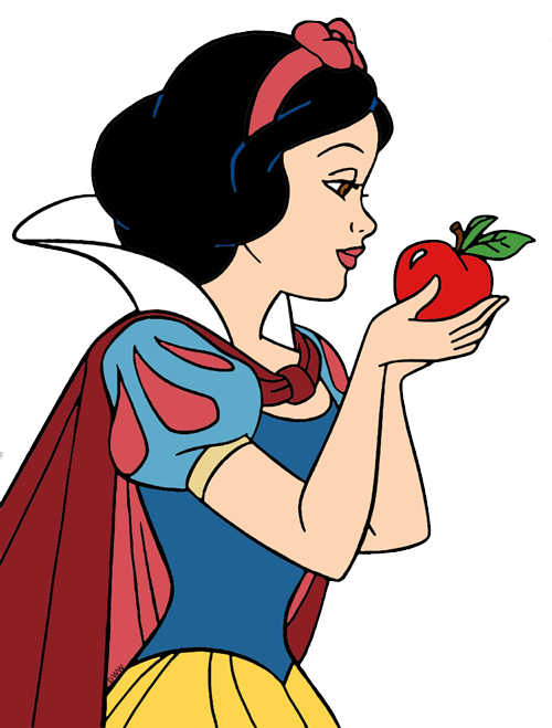 500x659 Picture Freeuse Library Snow White With Apple