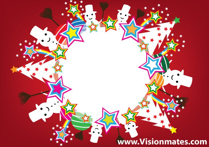 679x480 Free Snowball Vector With Christmas Elements Psd Files, Vectors