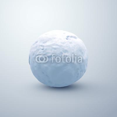 400x400 Realistic Snowball. Vector Seasonal Illustration. Buy Photos