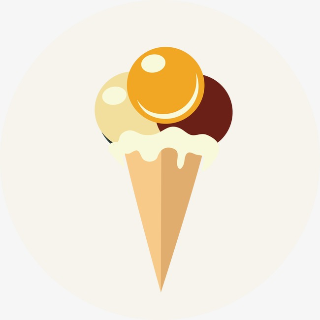 650x650 Tricolor Snowball Vector, Ice Cream, Ice Cream, Cones Png And