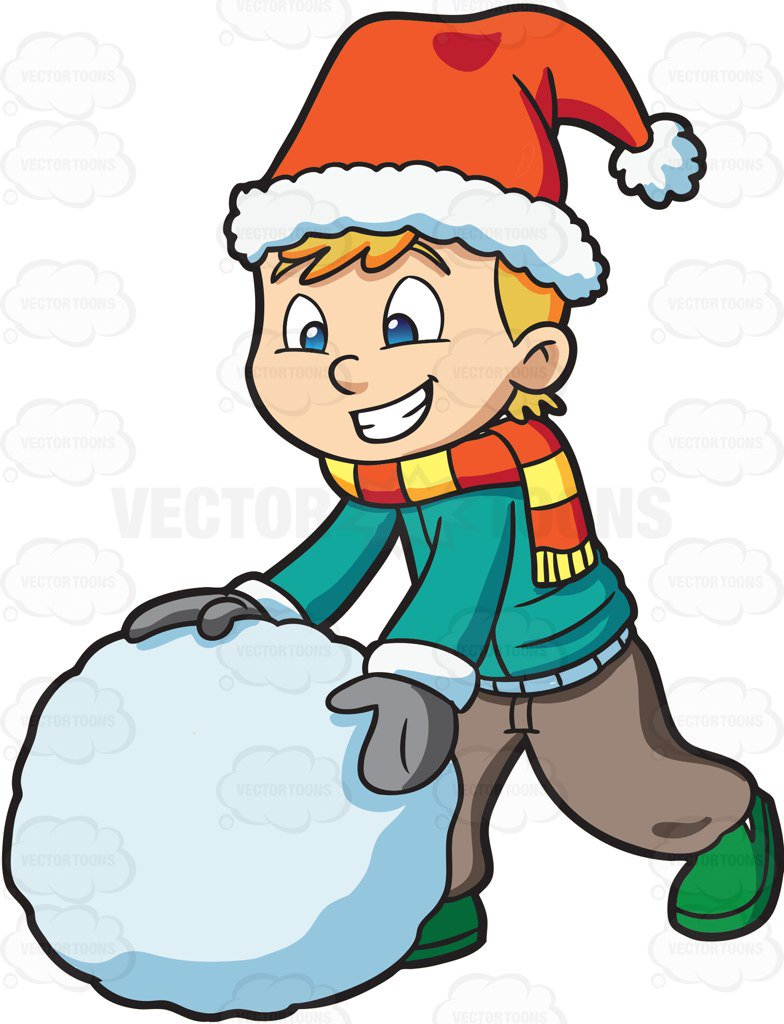 784x1024 Snowball Clipart By Vector Toons