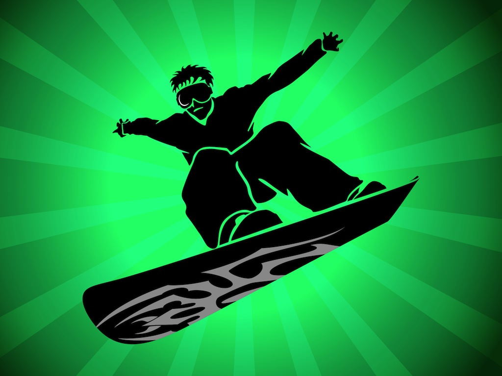 1024x767 Snowboard Vector Vector Art Amp Graphics