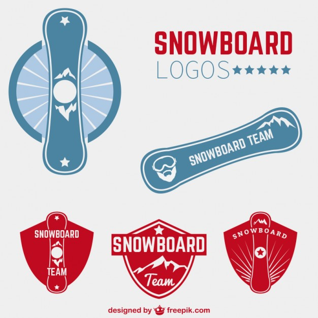 626x626 Snowboard Logos Vector Free Download