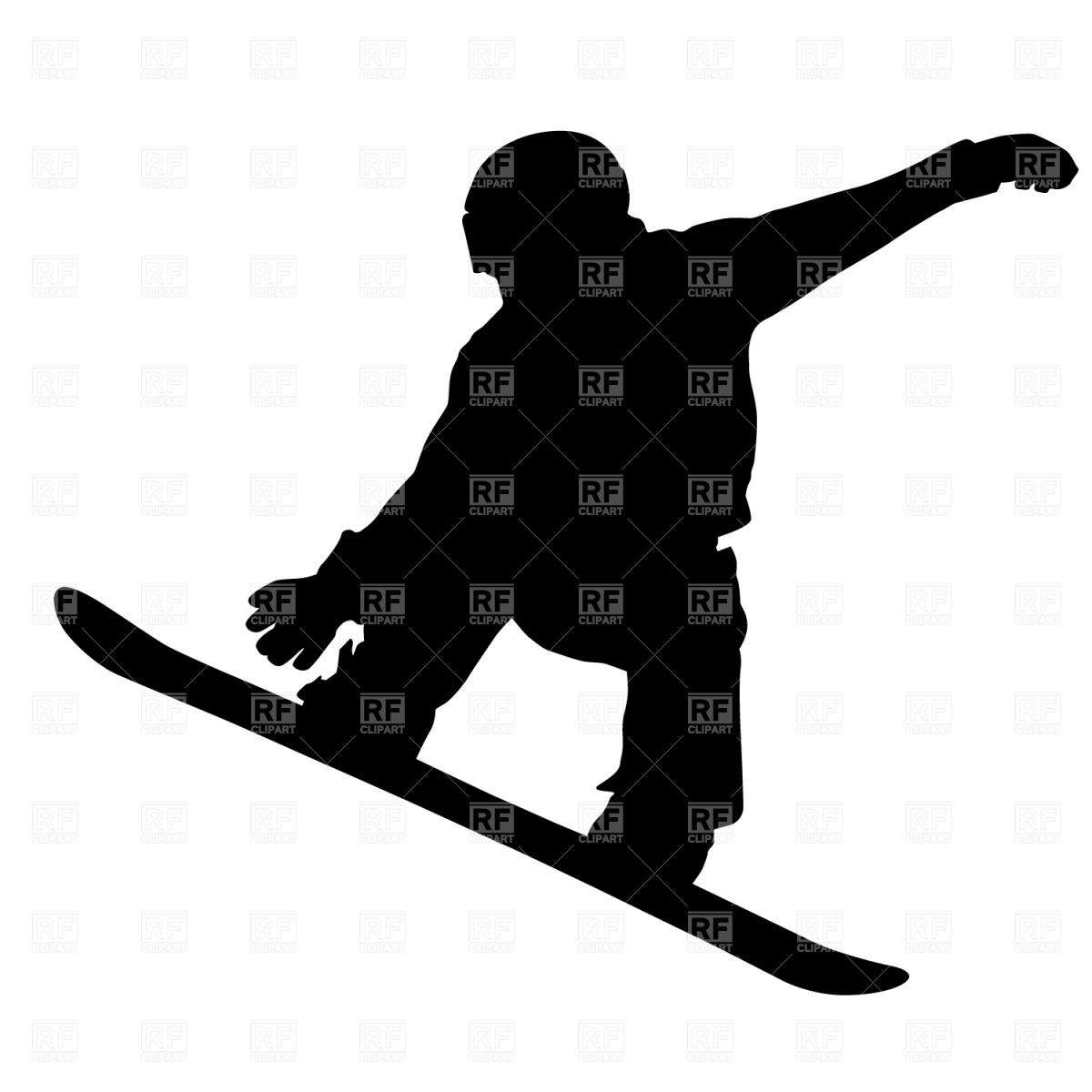 1200x1200 Snowboarder Vector Image Vector Artwork Of People Prague