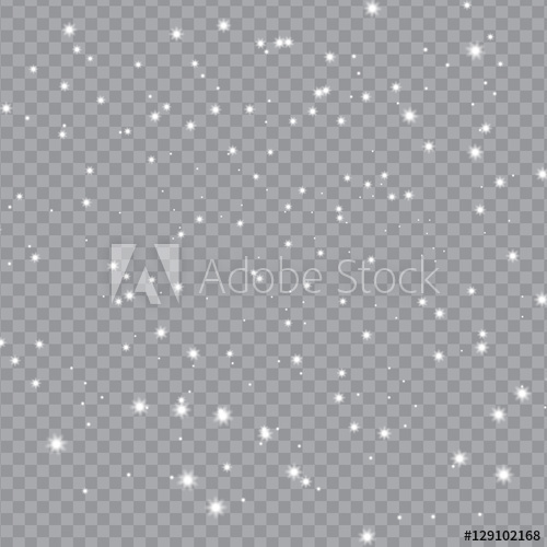 500x500 Falling Snow With Snowflakes On Transparent Background Winter