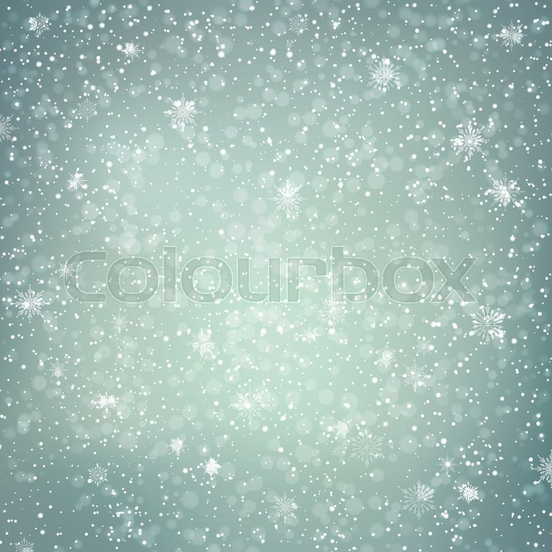 800x800 Abstract Snowy Winter Background. Festive Vector Abstract Backdrop