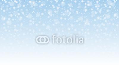 400x267 Christmas Snow. Falling Snowflakes On Light Background. Snowfall