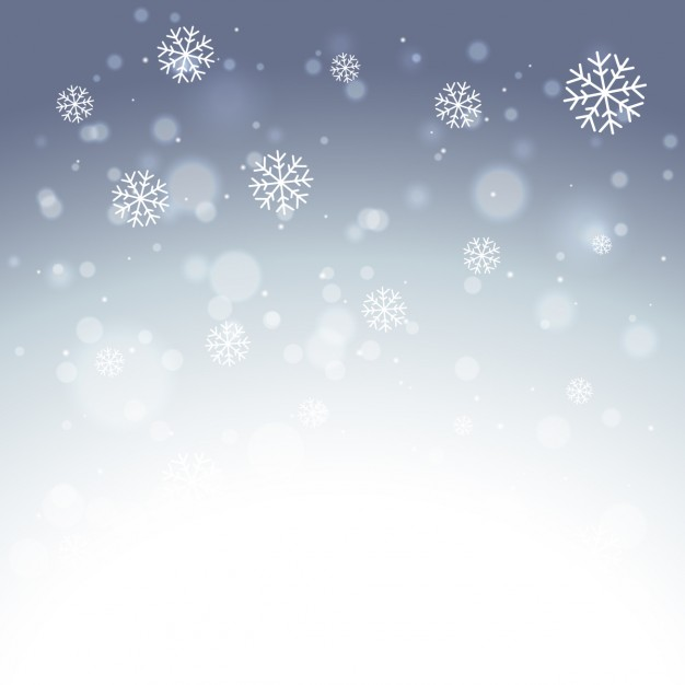 626x626 Elegant Snowflakes Background Vector Free Download