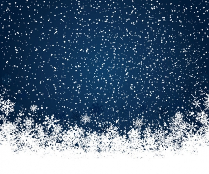 425x354 Set Of Snowflake Backgrounds For Christmas Vector Vector Free
