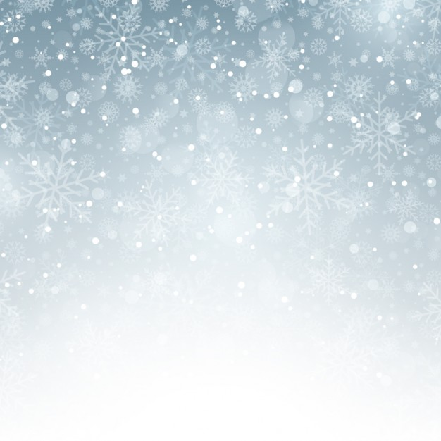 626x626 Silver Background With Snowflakes Vector Free Download