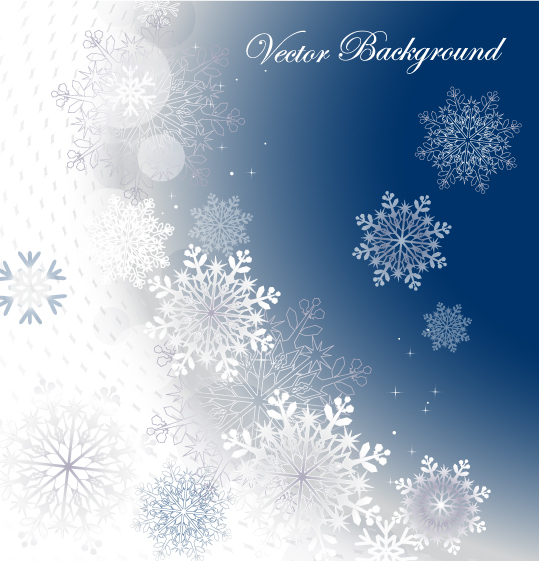 539x561 Snowflake Background 02 Vector Free Vector 4vector