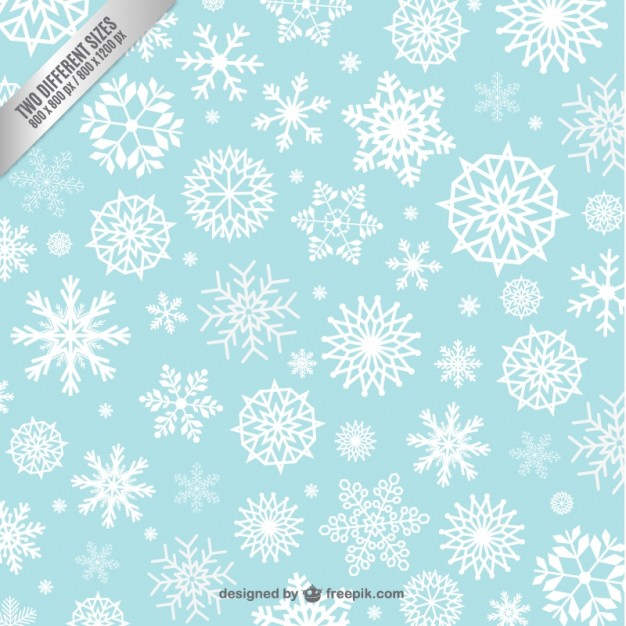 626x626 Snowflakes Background Pattern Vector Free Download