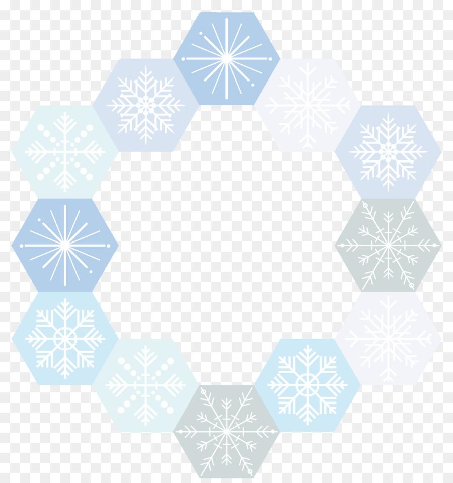 900x960 Download Snowflake Euclidean Vector Circle Snowflake Border Vector