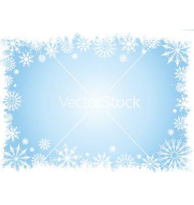 380x400 Grunge Snowflake Border Vector 4600