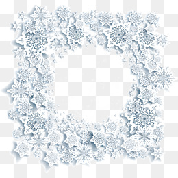 260x260 Snowflake Border Png, Vectors, Psd, And Clipart For Free Download
