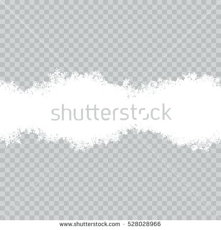 450x470 Template Snowflakes Border Vector File Included Snowflake