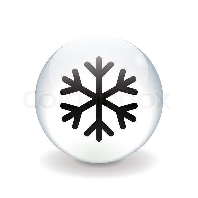 800x800 Round White Button