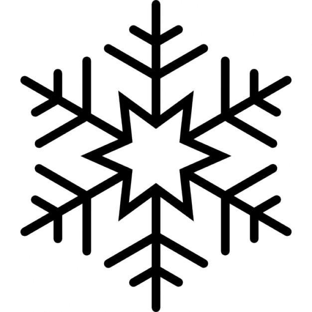 626x626 Six Pointed Star Snowflake Icons Free Download