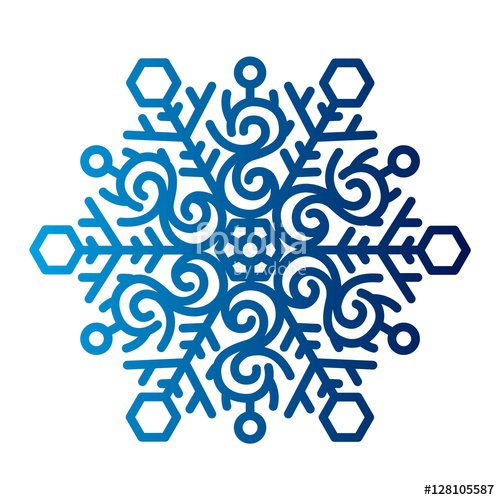 500x500 Snowflake Icon Vector. Stock Image And Royalty Free Vector Files