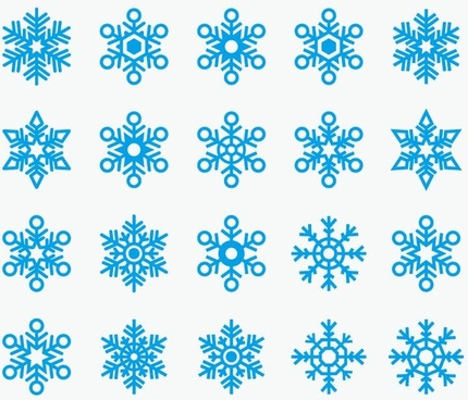 430x368 Snowflake Symbol Free Vector Download (23,147 Free Vector) For