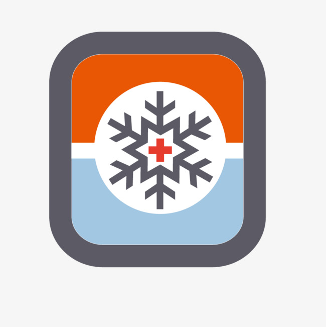 650x651 Square Snowflake Icon, Square Vector, Snowflake Vector, Icon