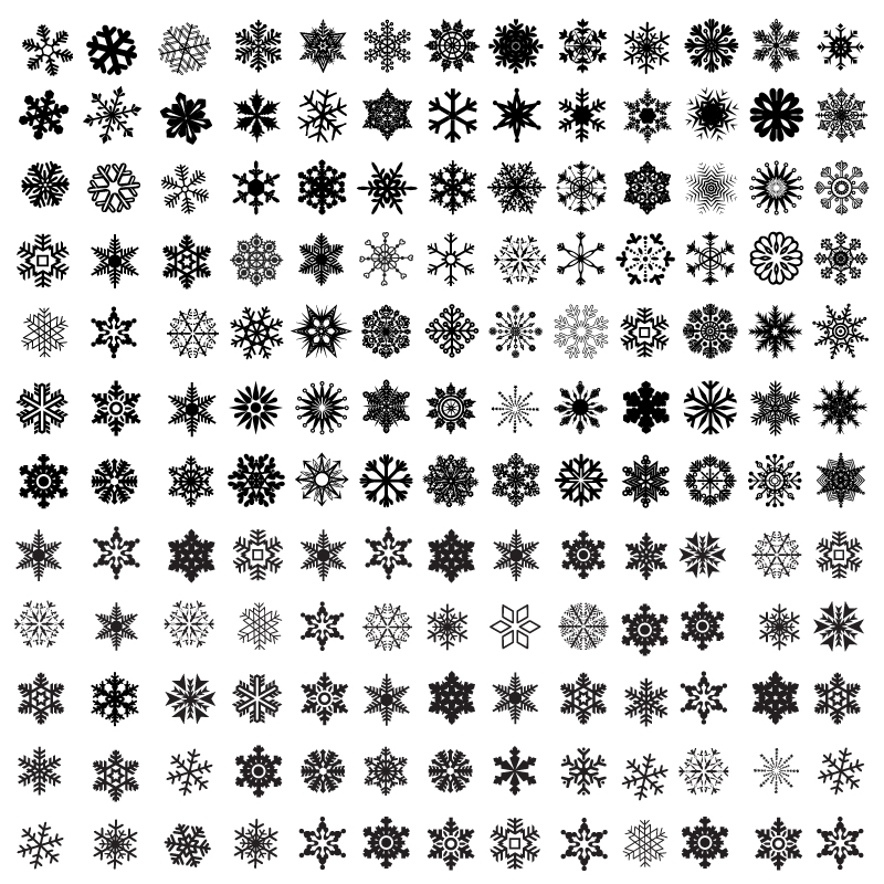 800x800 Free Snowflake Icon Vector 426752 Download Snowflake Icon Vector
