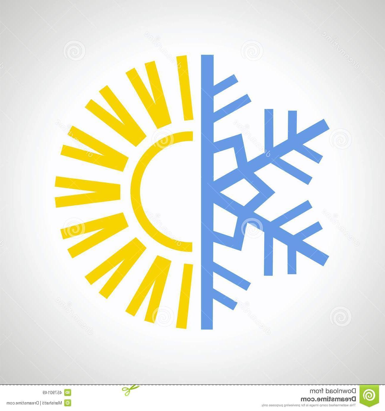 1300x1390 Hd Sun Snowflake Icon Vector Design Illustration Image