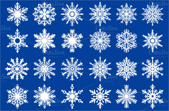 585x386 Snowflake Patterns Free Psd, Vector Eps, Ai Formats Download