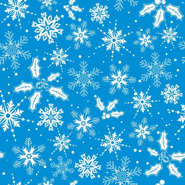 600x600 Snowflake Pattern Background Vector Free Vector In Encapsulated