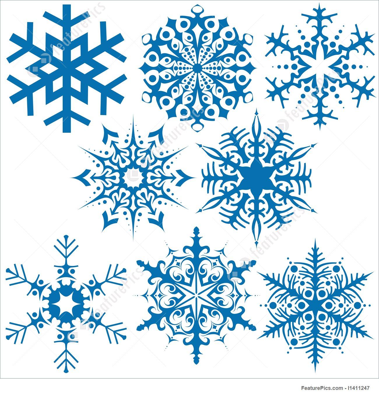1300x1360 Holidays Snowflakes