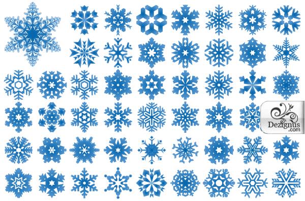 600x395 Snowflake Clipart Vectors Download Free Vector Art